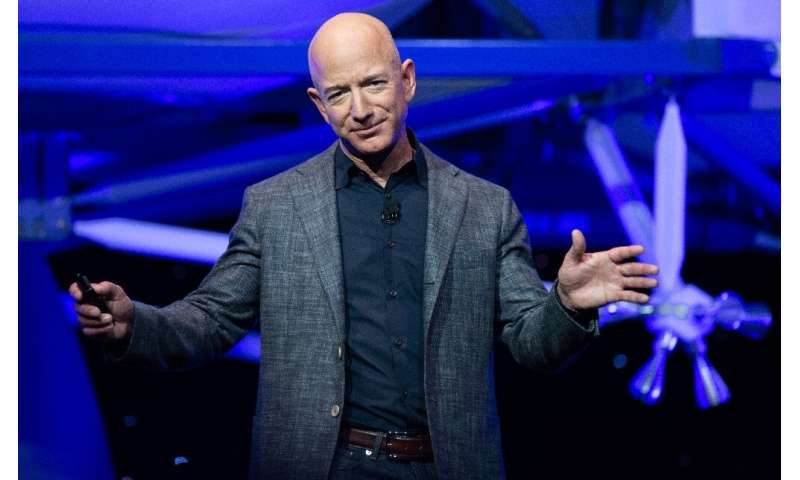 Amazon CEO Jeff Bezos saw his wealth grow by a third during the COVID-19 lockdowns