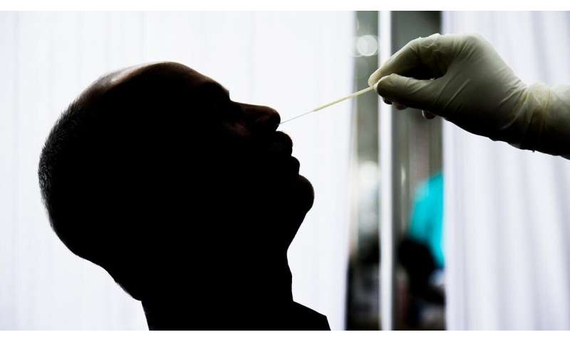 """An alternative for the """"brain tickler?"""" Scientists explore saliva testing for COVID-19"""