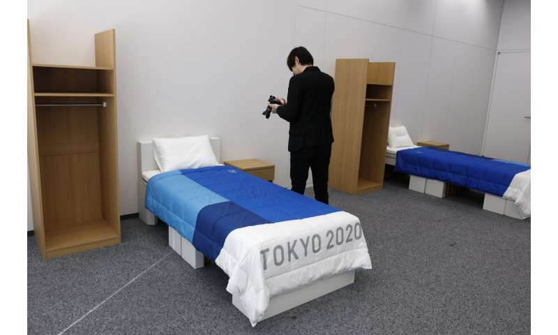 An Olympic First: Cardboard beds for Tokyo Athletes Village