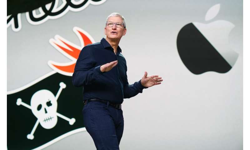 Apple CEO Tim Cook kicks off the tech giant's developer conference which was being held online only as a result of the COVID-19