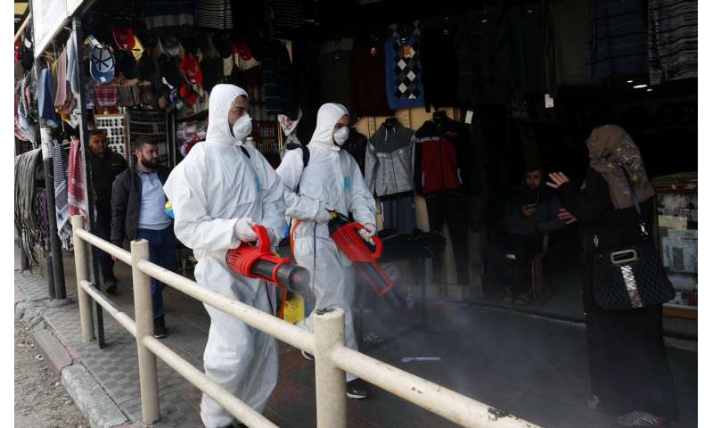 Arrival of virus in Gaza raises fears about vulnerable areas