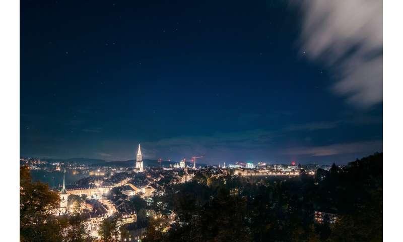 Artificial light at night