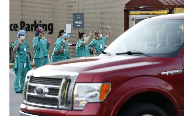 As cases surge, 3 in 4 US hospitals already facing COVID-19