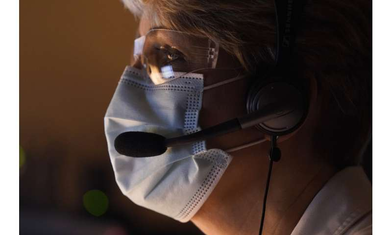 Can you repeat that? Hearing trouble more obvious with masks