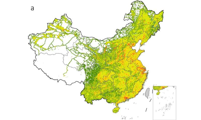 Carbon footprint hotspots: Mapping China's export-driven emissions