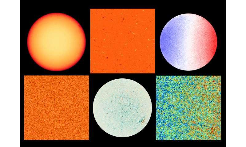 Gros plans du soleil