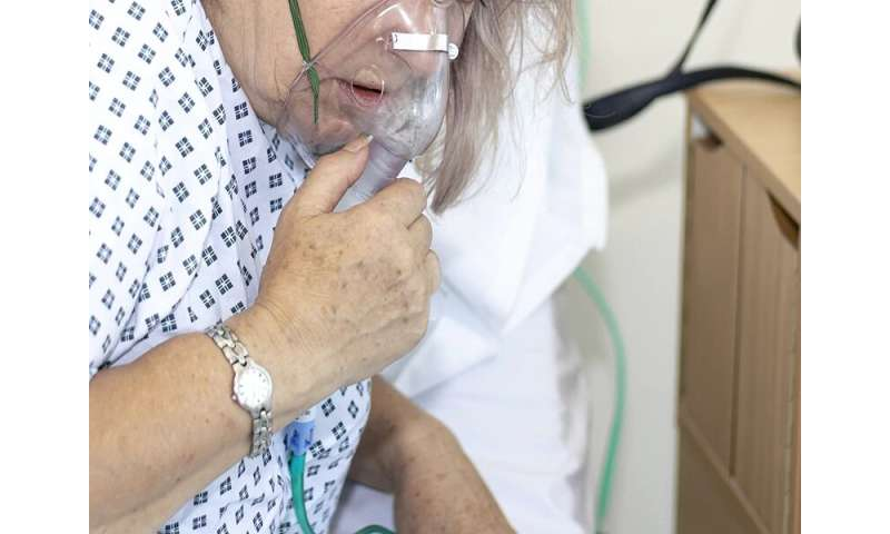 COVID-19 death risk 12 times higher for those with chronic health conditions