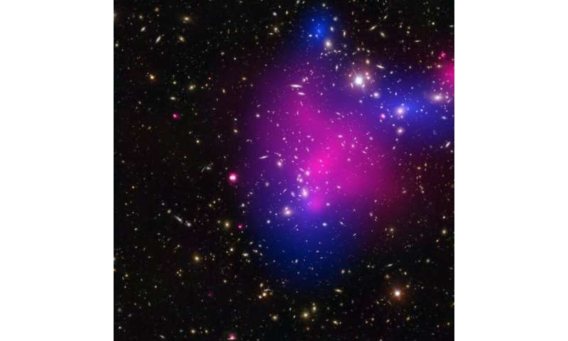 Dark matter: our method for catching ghostly haloes could help unveil what it's made of