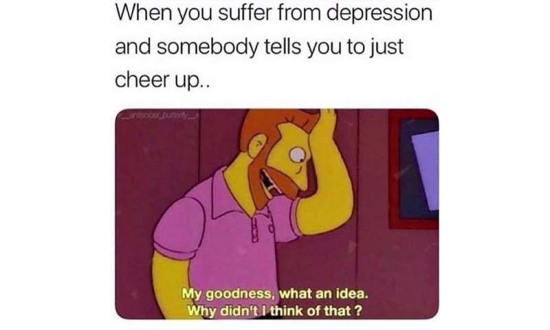 Depression memes may be a coping mechanism for people with mental illness