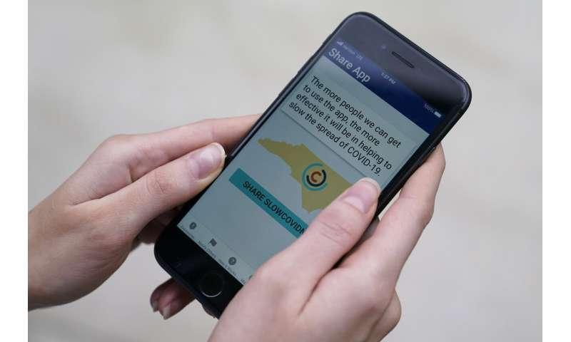 Despite promise, few in US adopting COVID-19 exposure apps