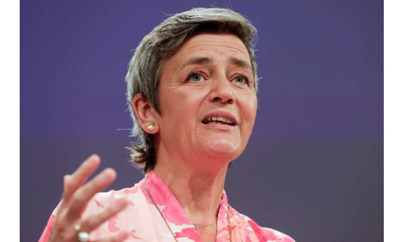 "EU competition commissioner Margrethe Vestager said the fight against profit-shifting by big tech was a ""marathon... on hil"