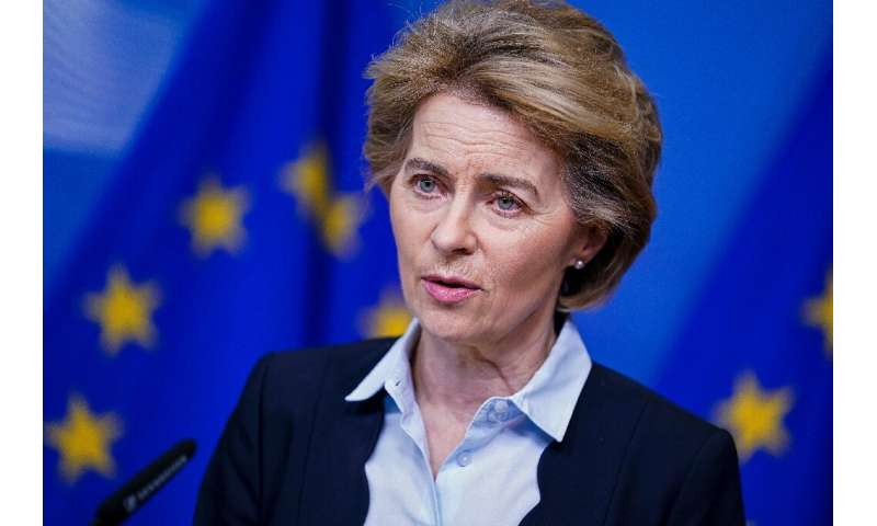 European Commission President Ursula von der Leyen said the measure to stop 'ghost flights' would be temporary