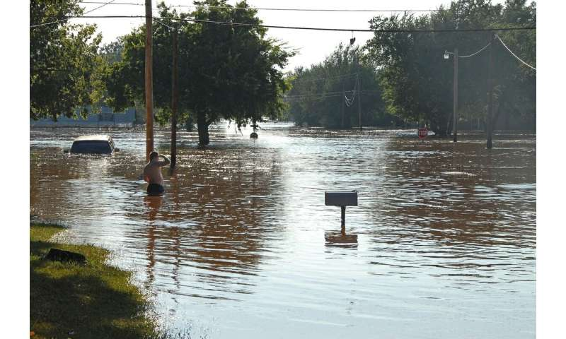 Extreme rainfall projected to get more severe, frequent with warming