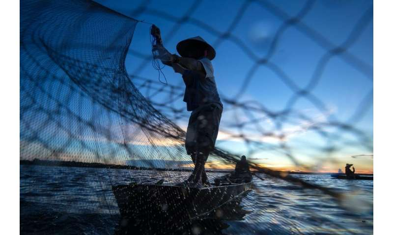Fishers are one of the poorest professions in Indonesia, yet they are one of the happiest