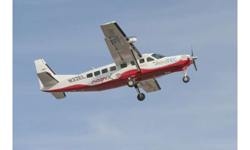 Groundbreaking all-electric plane paving way to greener aviation