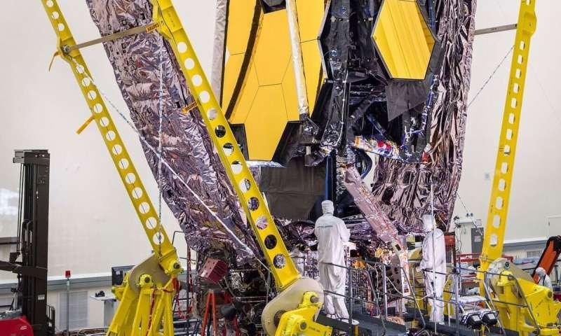 Ground segment testing a success for NASA's James Webb Space Telescope