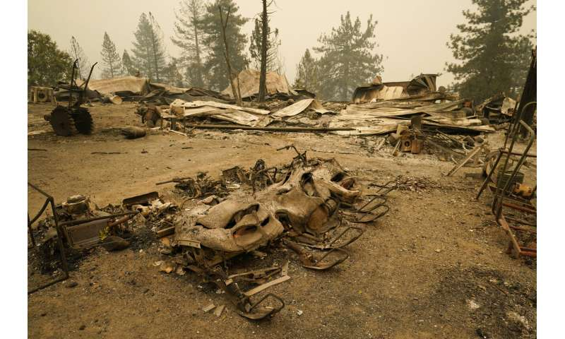 Gusty winds pose continued wildfire threats in California