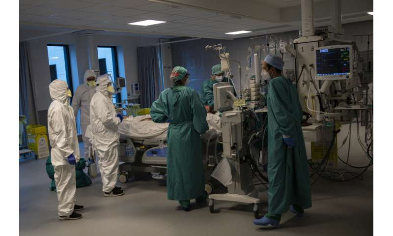 Hard-hit Belgium sees light at the end of virus tunnel