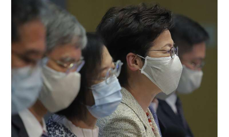 Hit by virus surge, Hong Kong offers free tests to everyone