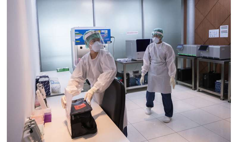 Holidays to test Thailand's easing of virus restrictions