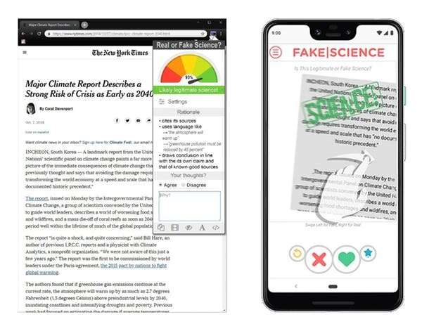 How technology can combat the rising tide of fake science