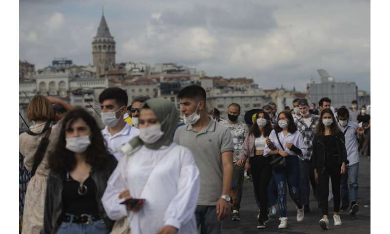 Istanbul introduces limits to gatherings as virus spreads