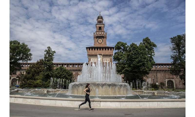 Italy eases lockdown, U.S. haltingly lifts some restrictions