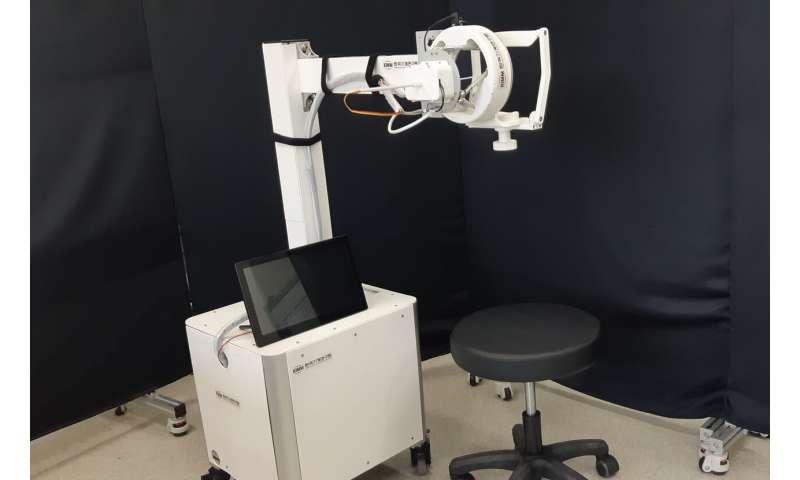KIMM develops remote specimen collection robot