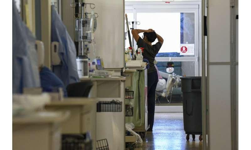 'Like a bathtub filling up': Alabama is slammed by the virus
