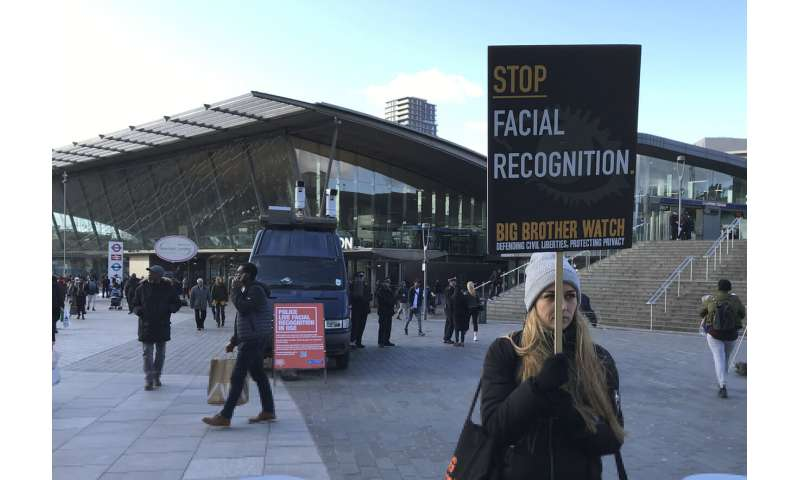 London police deploy face scan tech, stirring privacy fears