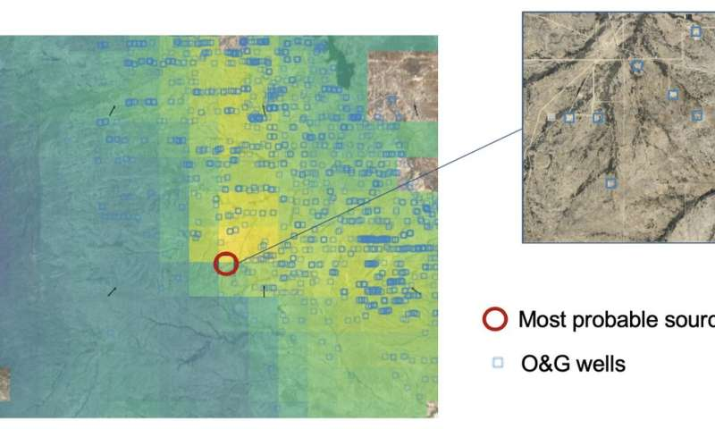 Mapping methane emissions on a global scale