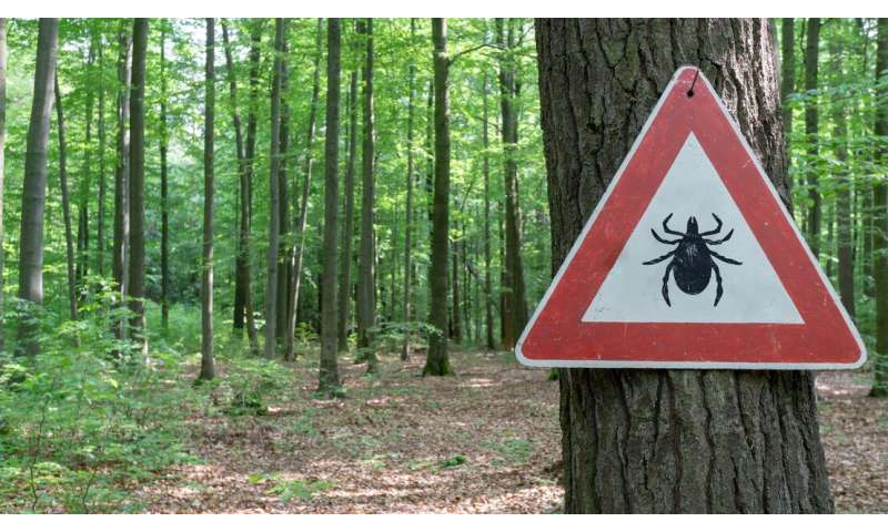 Mapping to predict the distribution of ticks in Switzerland