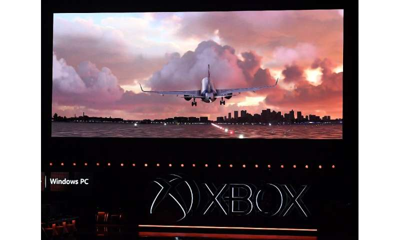 Microsoft has an Xbox version of Flight Simulator, a game dating to the earliest days of PC gaming