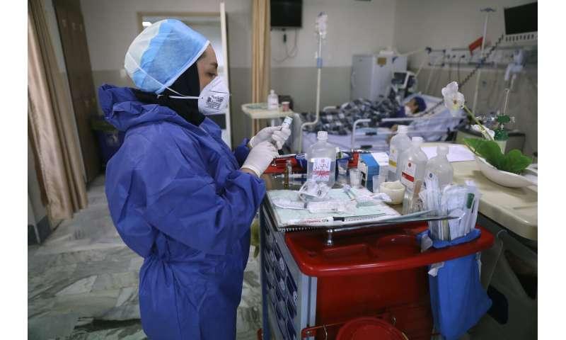 Months into virus, biggest one-day case spike worries Iran