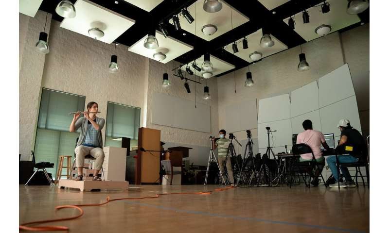 Musicians may need more than social distancing to stay safe on stage