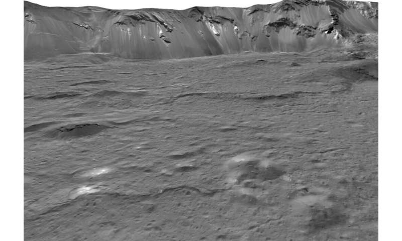 Mystery solved: Bright areas on ceres come from salty water below