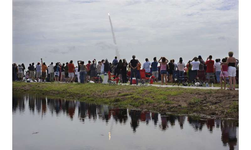 NASA begs spectators for astronaut launch: Please stay home!