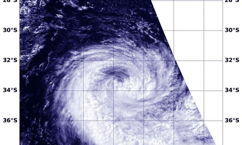 NASA catches the re-birth of zombie tropical cyclone Francisco