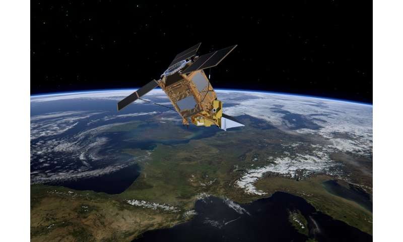New Space satellite pinpoints industrial methane emissions