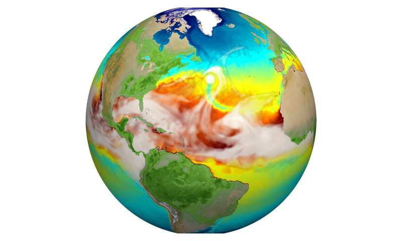 New version of Earth model captures detailed climate dynamics