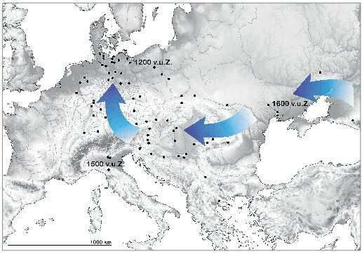Rapid acceptance of foreign food tradition in Bronze Age Europe