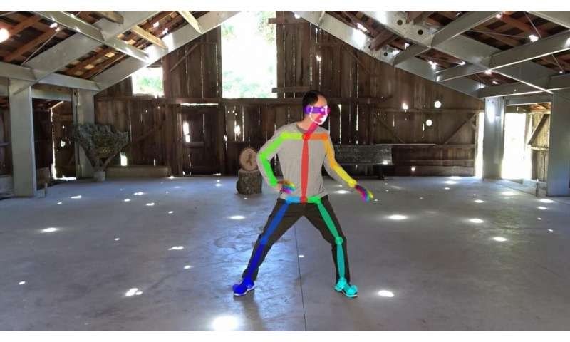 Reactive Video playback that you control with your body