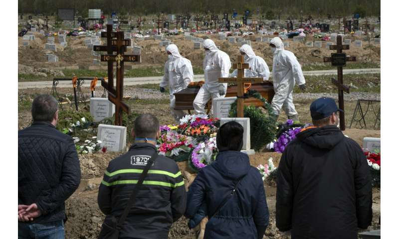 Russia's low virus death toll still raises questions in West