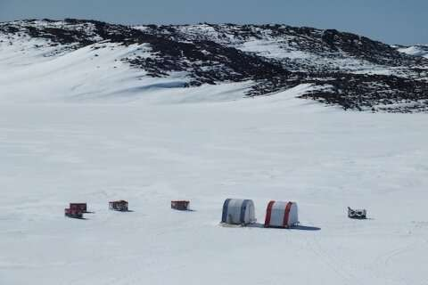 Secrets of Antarctic lake's microbes revealed