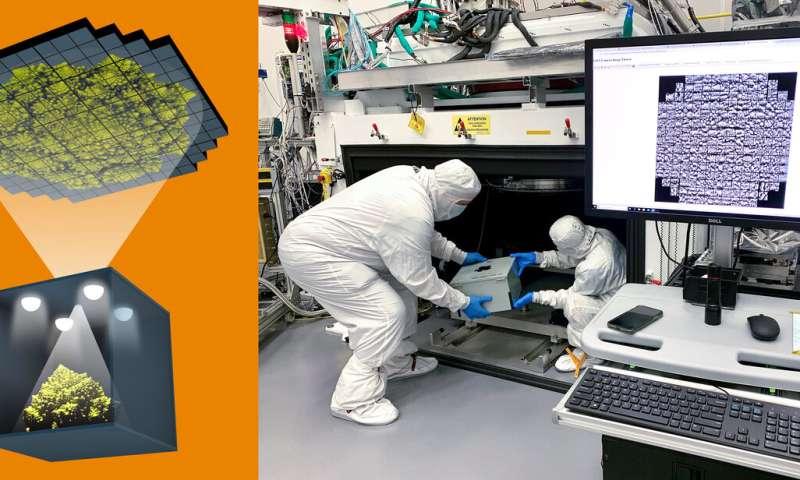 Sensors of world's largest digital camera snap first 3,200-megapixel images at SLAC