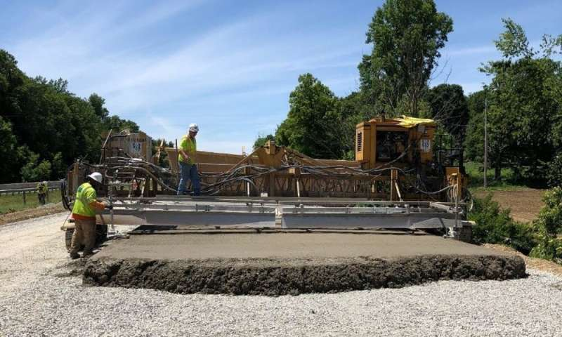 Smart concrete could pave the way for high-tech, cost-effective roads