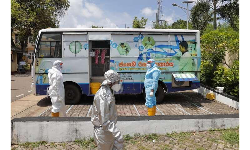 Sri Lanka widens curfew, bans gatherings as virus surges