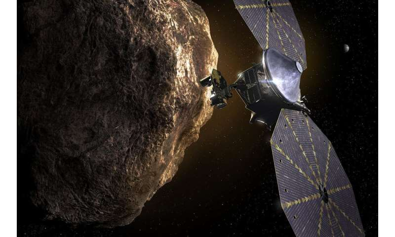 Lucy mission one step closer to the Trojan asteroids 2-swriledlucym
