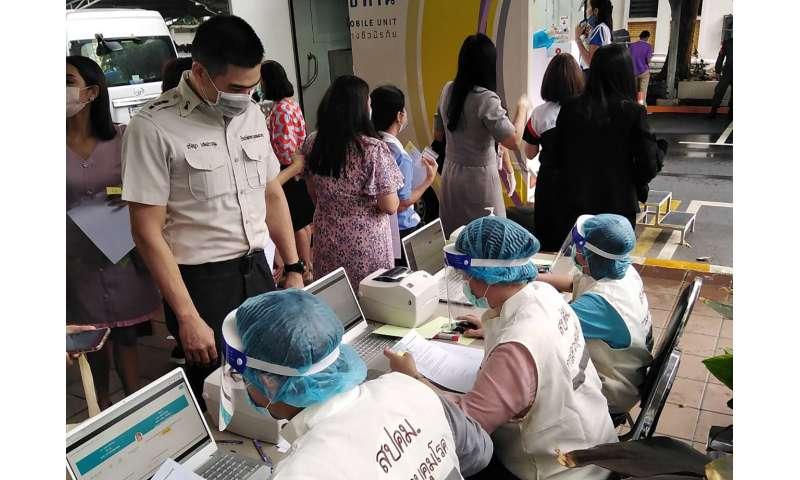 Thailand reports 1st local coronavirus case in 100 days