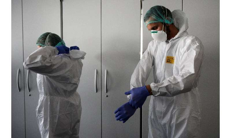 The pandemic has spurred a worldwide scramble for medical gear